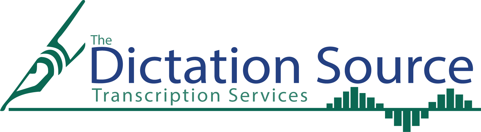 The Dictation Source Logo